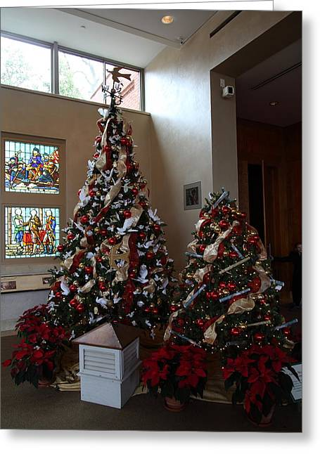 Presidents Greeting Cards - Christmas Display - Mt Vernon - 01132 Greeting Card by DC Photographer