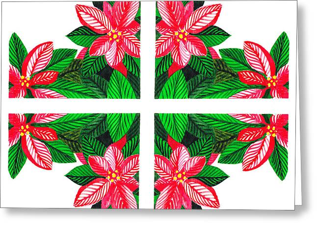 Christmas Art Greeting Cards - Christmas Gift Greeting Card by Irina Sztukowski