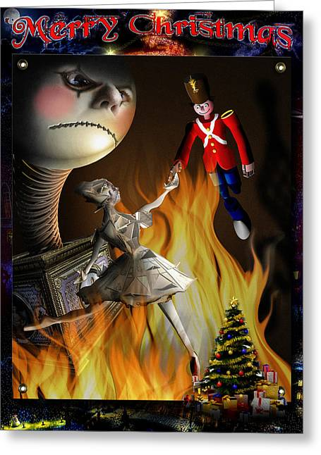 Steadfast Greeting Cards - Christmas greeting card III Greeting Card by Alessandro Della Pietra