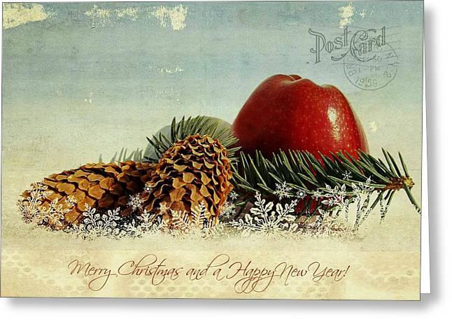 Christmas Greeting Photographs Greeting Cards - Christmas Greeting Card by Heike Hultsch