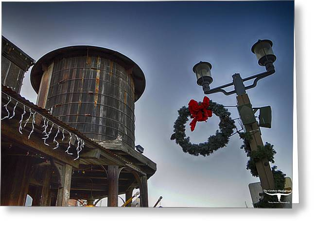 Old Town Temecula Greeting Cards - Christmas in Old Town Temecula 1 Greeting Card by Tommy Anderson