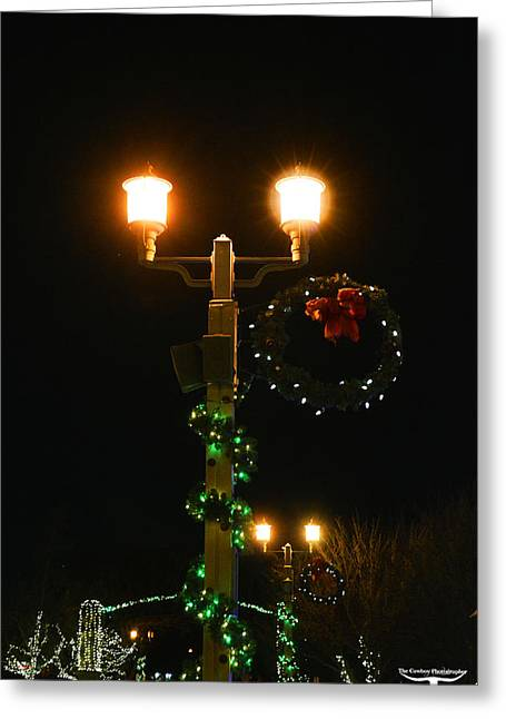 Old Town Temecula Greeting Cards - Christmas in Old Town Temecula 2 Greeting Card by Tommy Anderson