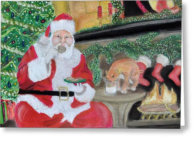 Christmas is for Sharing 2 Greeting Card by Danae McKillop