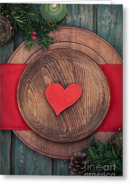 Mythja Greeting Cards - Christmas ornaments Greeting Card by Mythja  Photography