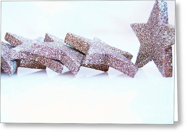Weihnachten Greeting Cards - Christmas Stars Greeting Card by Sabine Jacobs