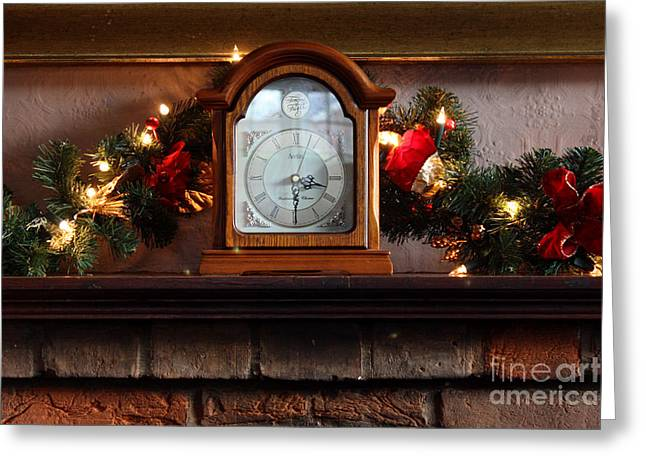 Terri Waters Greeting Cards - Christmas Time Greeting Card by Terri  Waters