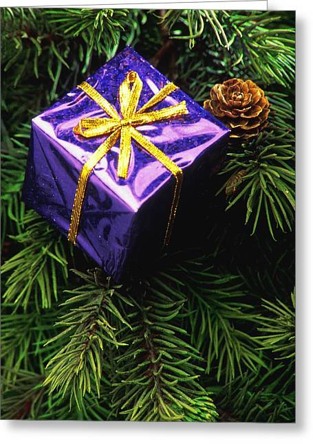 Special Occasion Greeting Cards - Christmas Tree Decoration Greeting Card by Darren Greenwood