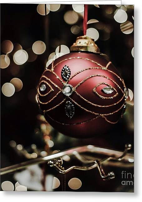 Festive Pyrography Greeting Cards - Christmas tree Greeting Card by Jeremy  Shusman