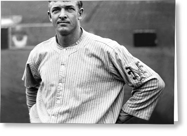Christopher Christy Mathewson Greeting Card by Retro Images Archive