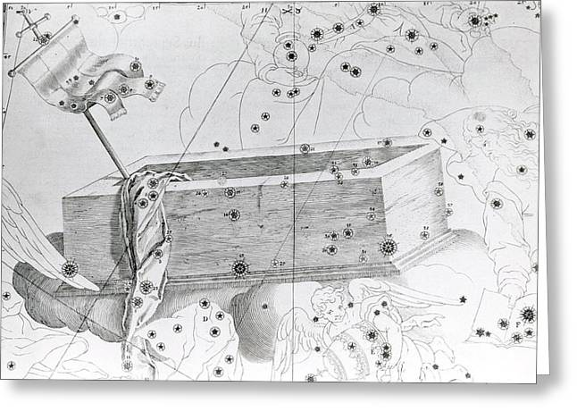 Christ's Sepulchre Constellation Greeting Card by Royal Astronomical Society