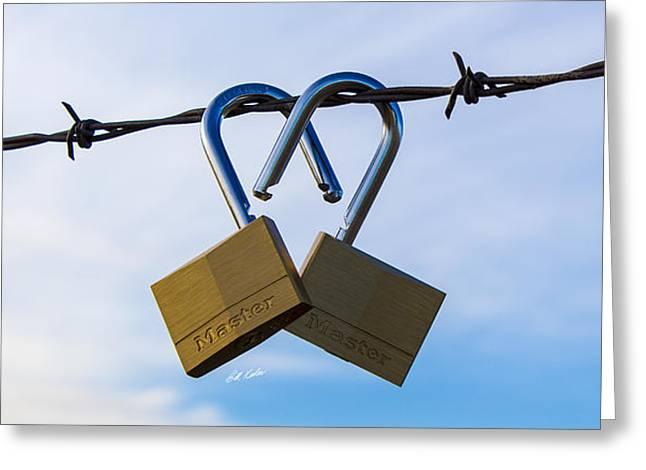 Bill Kesler Greeting Cards - Chrome Heart Greeting Card by Bill Kesler