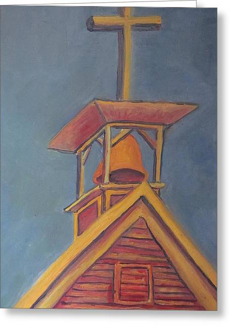 Cherie Sexsmith Greeting Cards - Chrurch roof Greeting Card by Cherie Sexsmith