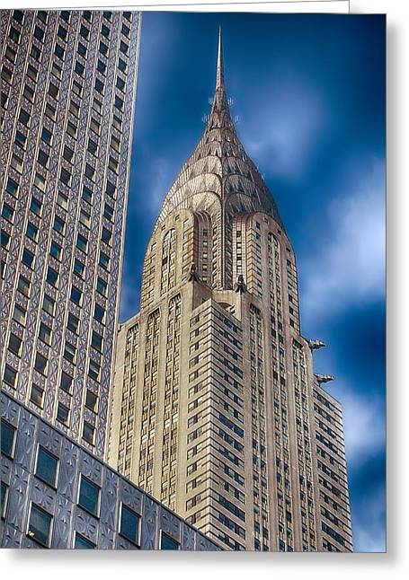 Ground Zero Greeting Cards - Chrysler Building Greeting Card by Joann Vitali