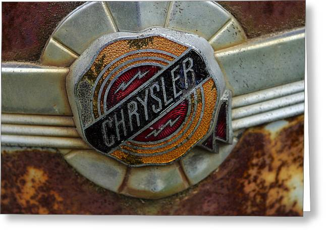 Ignore Greeting Cards - Chrysler Greeting Card by Jean Noren