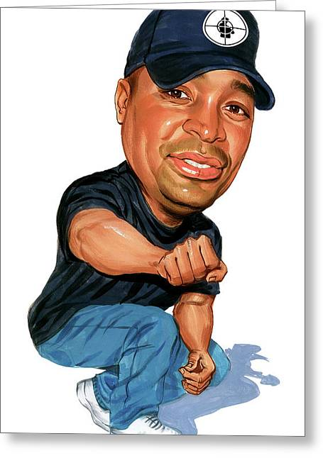 Chuck D Greeting Card by Art