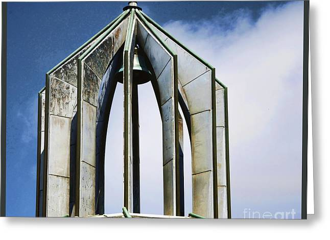 State Legislator Greeting Cards - Church - Tower Bell - Luther Fine Art Greeting Card by Luther  Fine Art
