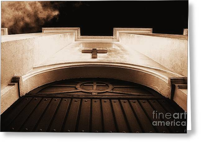 Awsome Greeting Cards - Church Greeting Card by H Scott Cushing
