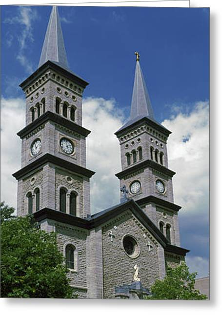 Church In A City, Church Greeting Card by Panoramic Images