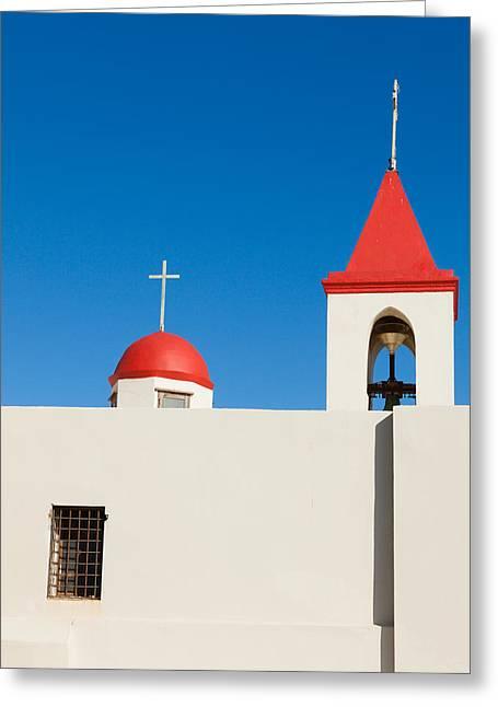 Church In Akko Greeting Card by Alexey Stiop