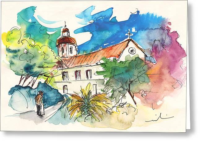 Church In Castro Marim In Portugal Greeting Card by Miki De Goodaboom