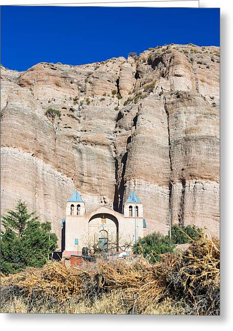 Bolivia Greeting Cards - Church in Espicaya Greeting Card by Jess Kraft