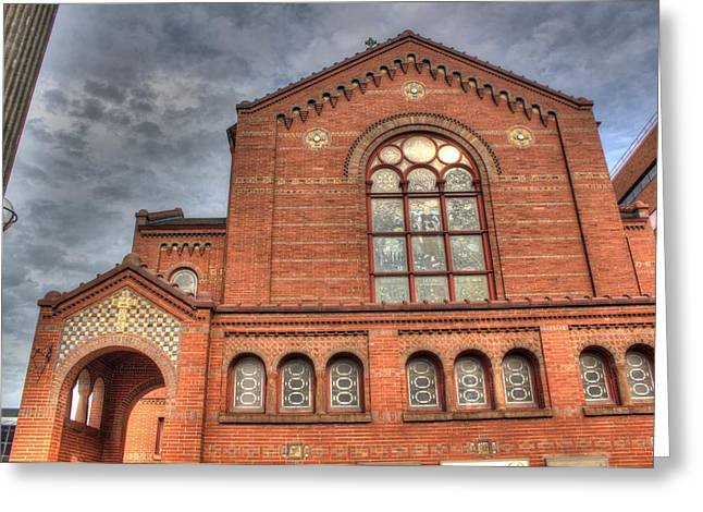 Rochester Artist Greeting Cards - Church in HDR Greeting Card by Tim Buisman