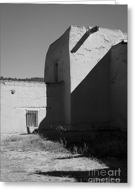 Altar Picture Greeting Cards - Church - Las Trampas NM No.2 Greeting Card by David Gordon