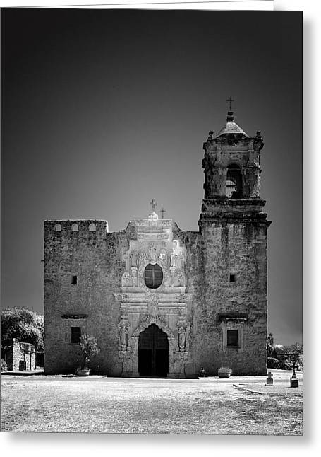 Historical Site Greeting Cards - Church Mission San Jose Greeting Card by Christine Till
