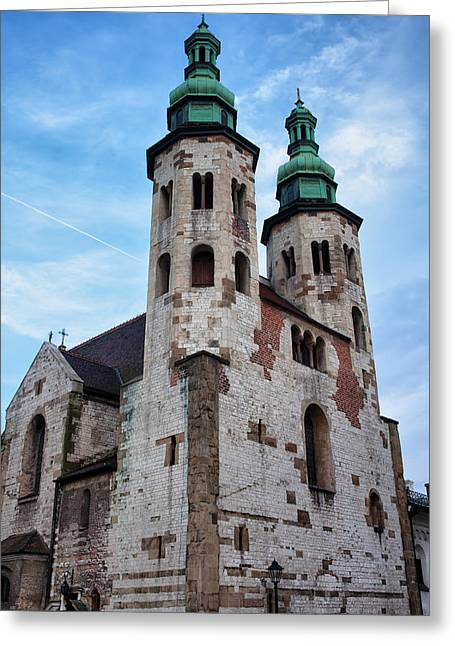 Polish Culture Greeting Cards - Church of St. Andrew in Krakow Greeting Card by Artur Bogacki