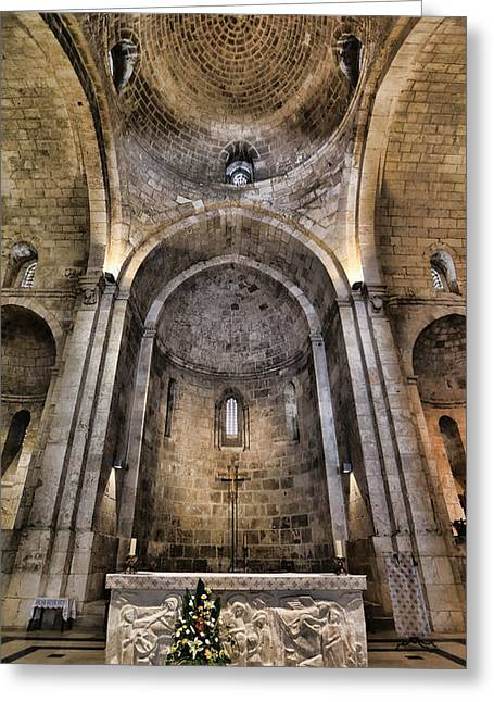 Church Of St. Anne - Jerusalem Greeting Card by Stephen Stookey