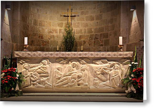 Church Of St. Anne Altar Greeting Card by Stephen Stookey