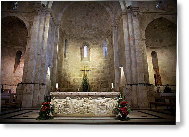 Saint Hope Greeting Cards - Church of St. Anne Greeting Card by Stephen Stookey