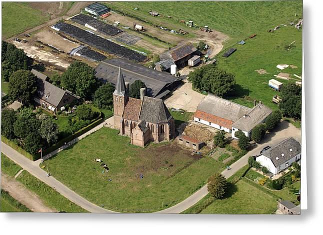 Gelderland Greeting Cards - Church, Persingen Greeting Card by Bram van de Biezen