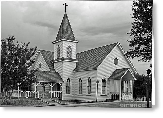 Preach Greeting Cards - Church Greeting Card by Robert Frederick