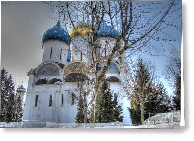 Old Street Greeting Cards - Churches Russia  Religion Greeting Card by Yury Bashkin