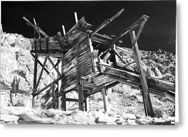 Black Mountain Greeting Cards - Chutes and Ladders Greeting Card by Cat Connor