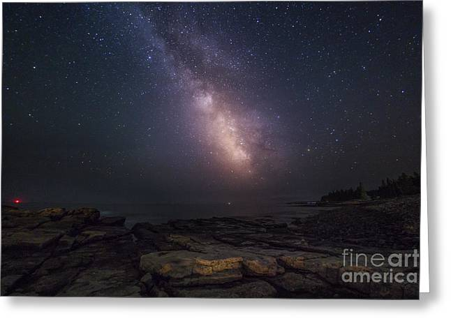 Constellations Photographs Greeting Cards - Cielo Aperto Open Sky Greeting Card by Marco Crupi