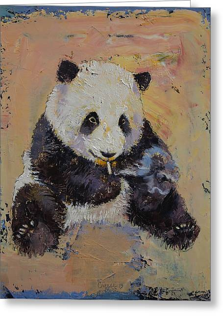 Smoker Greeting Cards - Cigarette Break Greeting Card by Michael Creese
