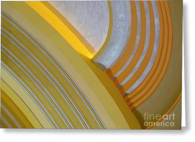 Ann Horn Greeting Cards - Cincinnati Ceiling Greeting Card by Ann Horn