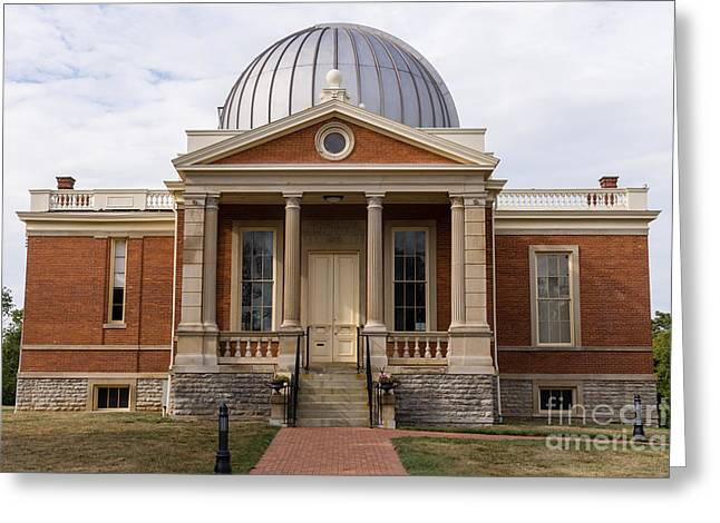 Observatory Greeting Cards - Cincinnati Observatory in Cincinnati Ohio Greeting Card by Paul Velgos