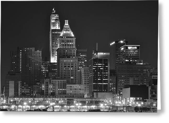 Ohio. Oh Greeting Cards - Cincinnati up Close Greeting Card by Frozen in Time Fine Art Photography