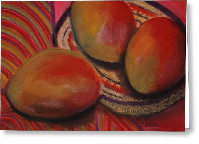 Mango Greeting Cards - Cinco De Mayo Greeting Card by Gitta Brewster