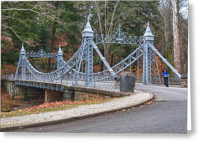 Guy Whiteley Photography Greeting Cards - Cinderella Bridge Greeting Card by Guy Whiteley