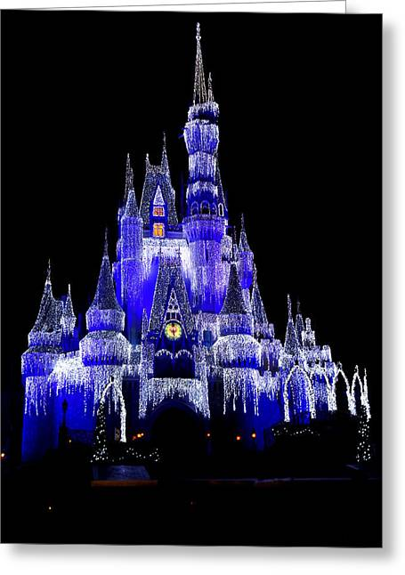 Laurie Perry Greeting Cards - Cinderellas Castle Greeting Card by Laurie Perry