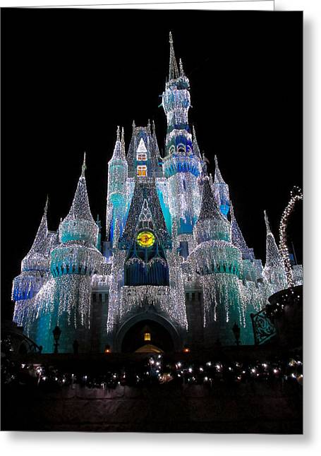 Cinderella's Castle Greeting Card by Steven Reed