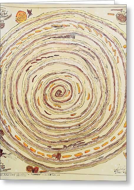 Cinnabon Greeting Card by Dietmar Scherf