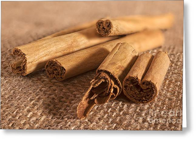 Cinnamon Greeting Cards - Cinnamon Quills Greeting Card by Colin and Linda McKie