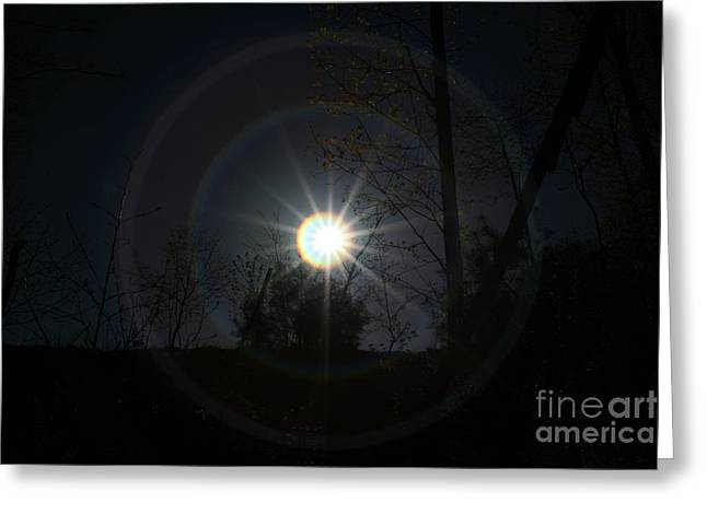 Connecticut Greeting Cards - Circles Around The Sun Greeting Card by Neal  Eslinger