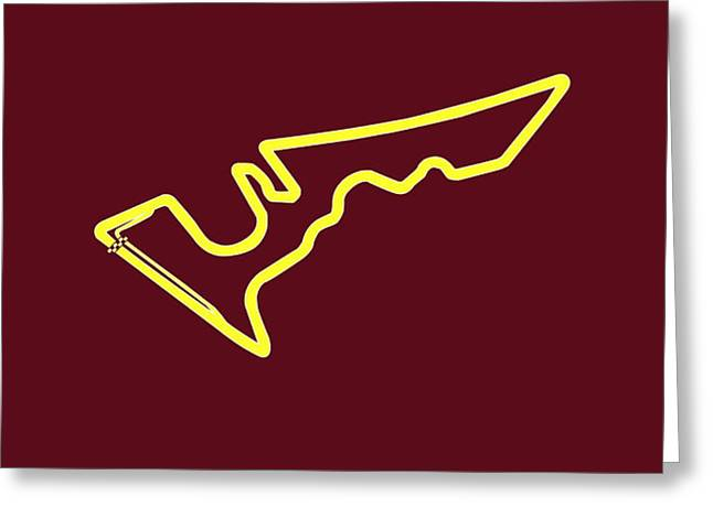 Circuit of the Americas Greeting Card by Mark Rogan