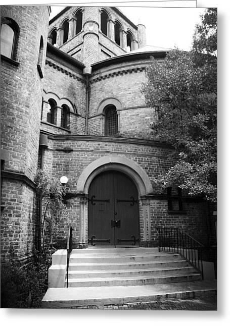Sc Greeting Cards - Circular Church of Charleston SC Greeting Card by Kelly Hazel